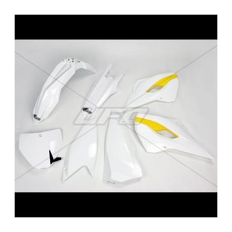 Kit plastique Ufo Plast pour Husqvarna FE125 et + 15