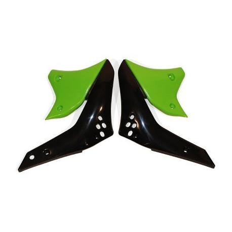 Ouies de radiateurs Ufo Plast pour Kawasaki KX250F 06-08
