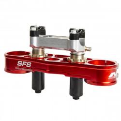 Té de fourche supérieur SFS pour Suzuki RM-Z250 14-15
