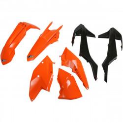 Kit plastique Ufo Plast pour KTM 125,250,300,350,450 EXC/EXC-F/XC-W 17-19