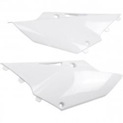 Plaques numéro latérales Ufo Plast pour Yamaha YZ125 15-17