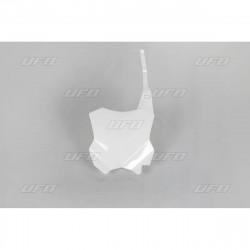 Plaque numéro frontale Ufo Plast pour Kawasaki KX250F 17-19