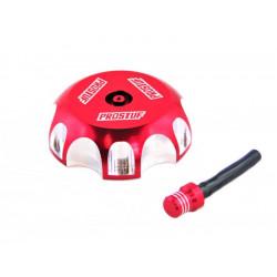 Bouchon de réservoir Prostuf rouge pour Honda CRF250R 04-17