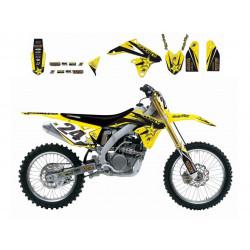 Kit déco Blackbird réplica Rockstar Energy Drink pour Suzuki RM125/250 01-09