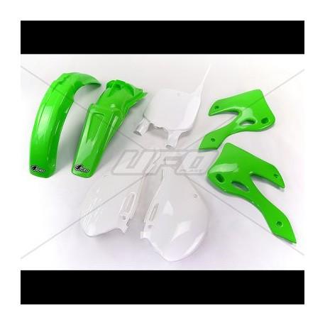Kit plastique Ufo Plast pour Kawasaki KX125 00-02