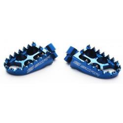 Repose-pieds Scar Evolution bleu pour KTM & Husqvarna SX,SX-F,TC,FC 16-18 / EXC,EXC-F,TE,FE 17-18