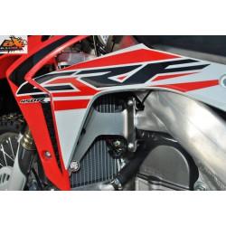 Protections de radiateur AXP Racing rouges pour Honda CRF450R/CRF450RX 17-19