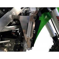 Protections de radiateur AXP Racing noires pour Kawasaki KX250F 17-18