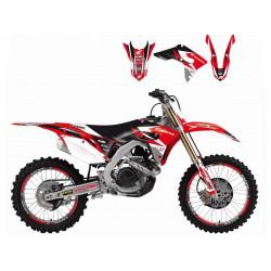 Kit déco Dream Graphics 3 pour Honda CRF450R 17-18