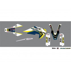 Kit déco Kutvek Racer pour Husqvarna TE,TX,FE 17-18