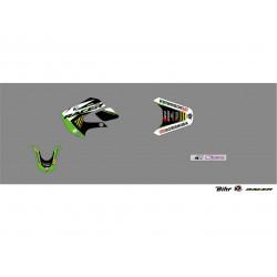 Kit déco Kutvek Racer pour Kawasaki KX65 00-18