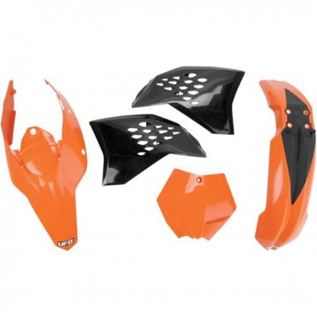 Kit plastique Ufo Plast pour KTM SX125 09-10