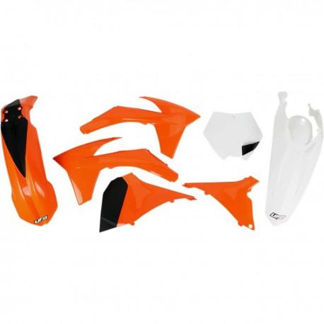 Kit plastique Ufo Plast pour KTM SX125 12