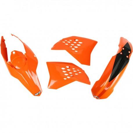 Kit plastique Ufo Plast pour KTM EXC125 et + 09-10