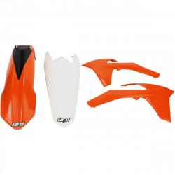 Kit plastique Ufo Plast pour KTM EXC125 et + 12-13