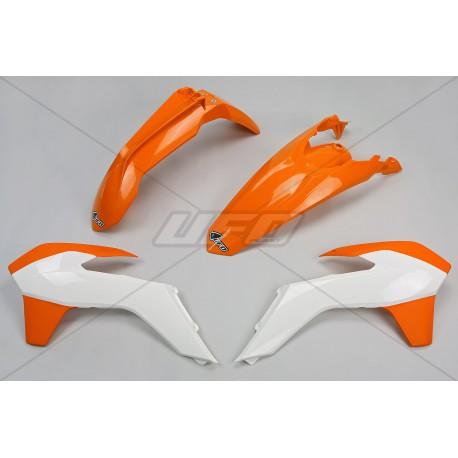 Kit plastique Ufo Plast pour KTM EXC125 et + 14-16