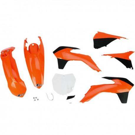 Kit plastique Ufo Plast pour KTM SX125 13-15