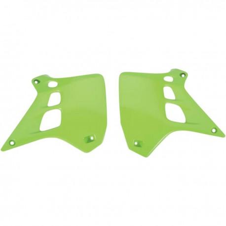 Ouies de radiateurs Ufo Plast pour Kawasaki KX250 90-91