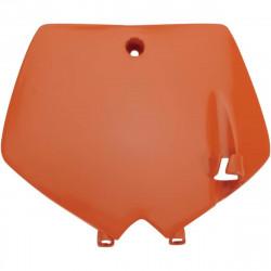 Plaque numéro frontale Ufo Plast pour KTM SX65 02-08