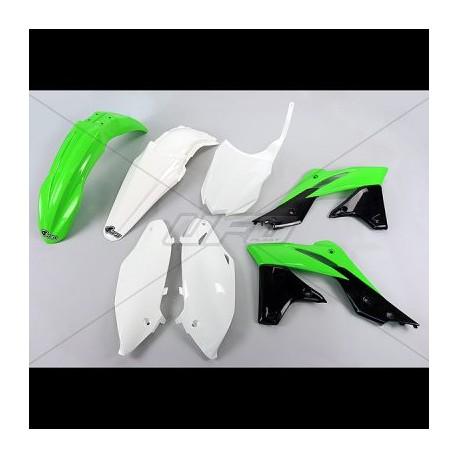 Kit plastique Ufo Plast pour Kawasaki KX250F 14-15