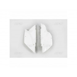 Plaques numéro latérales Ufo Plast pour Kawasaki KLX110 10-17