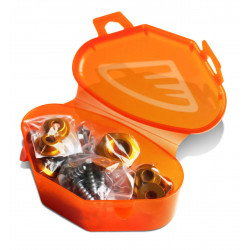 Kit visserie plastique Cycra pour KTM SX,SX-F 11-15/Husqvarna TC,FC 14-15