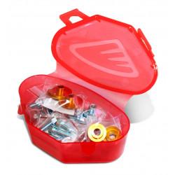 Kit visserie plastique Cycra pour Honda CRF250R 14-17/CRF450R 13-16