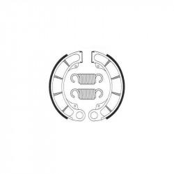 Machoires de frein arrière Bendix BA117 pour Husqvarna XC500 87-89