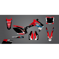 Kit déco semi-perso Mud Riders pour Honda CRF250R 14-17