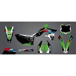 Kit déco semi-perso Mud Riders pour Kawasaki KX250F 13-16