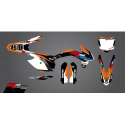Kit déco semi-perso Mud Riders pour KTM SX125 13-15