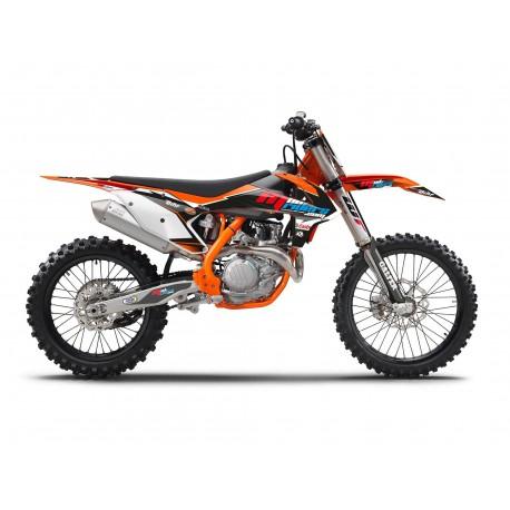 Mud 16 Riders sx Kit Perso Pour Sx F Déco 18sx 17 Ktm Semi FcKuTlJ351