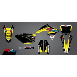 Kit déco semi-perso Mud Riders pour Suzuki RM-Z250 10-18