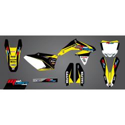 Kit déco semi-perso Mud Riders pour Suzuki RM-Z450 10-17