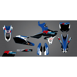 Kit déco semi-perso Mud Riders pour Yamaha YZ250F 14-18