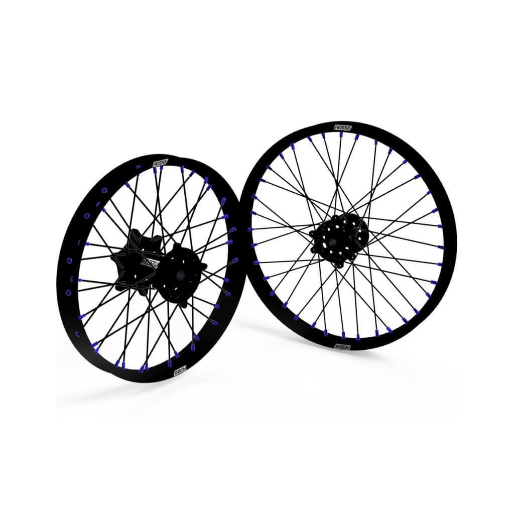 jeu de roue personnalisable prostuf pour yamaha yz125 99 18 pi ces d tach es moto cross mud riders. Black Bedroom Furniture Sets. Home Design Ideas