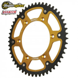 Couronne Supersprox Stealth or pour Suzuki RM-Z250 04-18