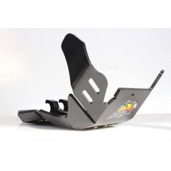 Sabot Enduro AXP XTREM PHD noir pour Husqvarna TX125 17-19