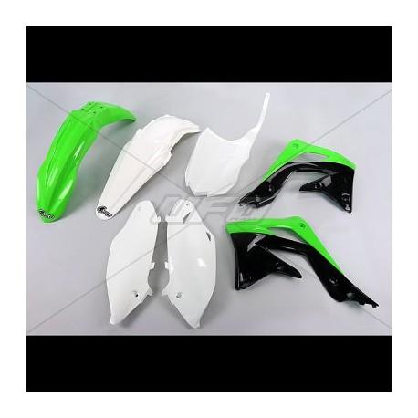 Kit plastique Ufo Plast pour Kawasaki KX450F 13-15