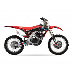 Kit déco semi-perso Mud Riders pour Honda CRF250R 2018