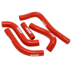Durites de radiateurs DRC rouges pour Honda CRF150R 07-18