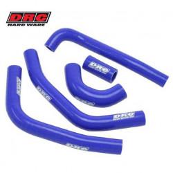 Durites de radiateurs DRC bleues pour Kawasaki KX85 01-13