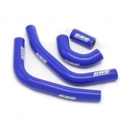 Durites de radiateurs DRC bleues pour Husqvarna FC450 14-15