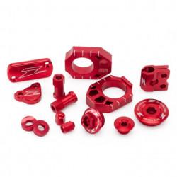 Kit pièces Zeta rouge pour Suzuki RMZ250 07-18