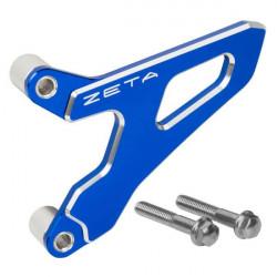 Protège pignon Zeta bleu pour Yamaha WR450F 03-15