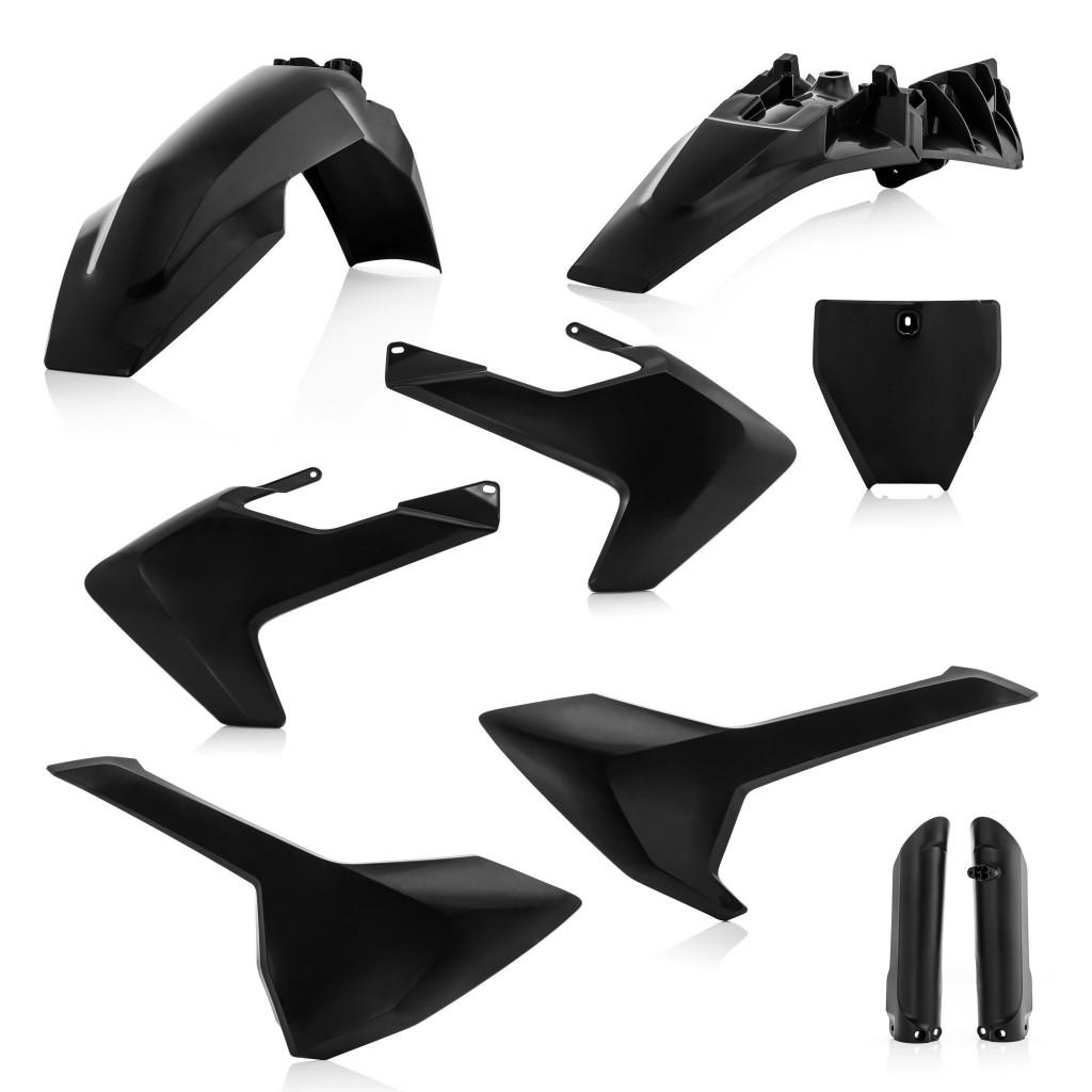 kit plastique acerbis pour husqvarna tc85 2018 pi ces d tach es moto cross mud riders. Black Bedroom Furniture Sets. Home Design Ideas