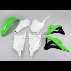 Kit plastique Ufo Plast pour Kawasaki KX85 14-18