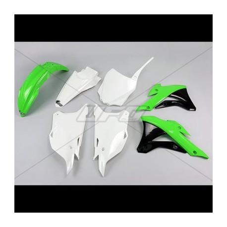 Kit plastique Ufo Plast pour Kawasaki KX85 14-15