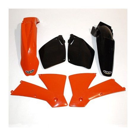 Kit plastique Ufo Plast pour KTM SX125 01-02