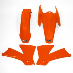 Kit plastique Ufo Plast pour KTM 125,250,450 SX/SX-F 2004